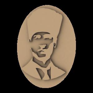 Atatürk Portresi BDK-0001