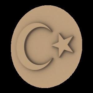 Türk Bayrağı BDK-0003