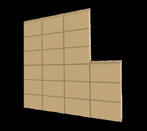 Terra Cotta Mantolama Plakası (150x275mm)