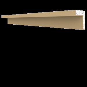 Parapet Saçak İç Köşe Profili BPP-0001