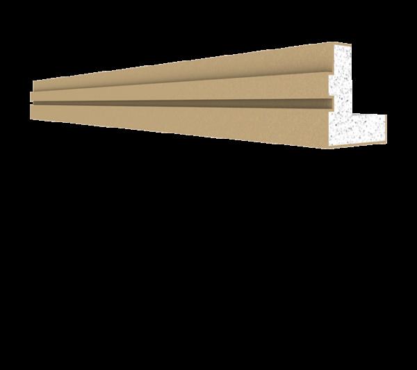 Parapet Saçak Alın Profili BPP-0002