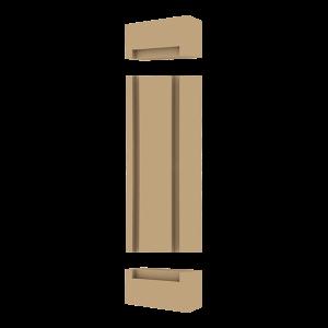 Sütun Ayak ve Baş Aparatları (Yarım Kare) BSB-0801