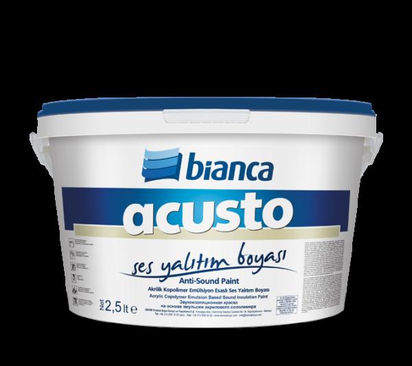 Acusto - Ses Yalıtım Boyası 2,5 lt (Anti-Sound Paint)