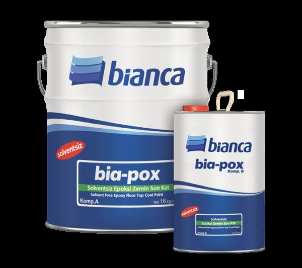 Bia-Pox - Solventsiz Epoksi Zemin Son Kat