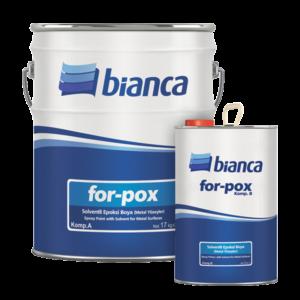 For-Pox - Solventli Epoksi Boya (Metal Yüzeyler)
