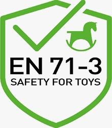 EN-71-3 Çocuk ve Oyuncak Güvenliği Standardına Uygun Boya