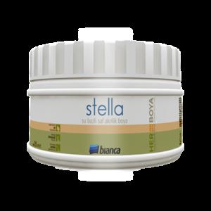 Stella- Su Bazlı Saf Akrilik Boya (Ahşap Renkler)